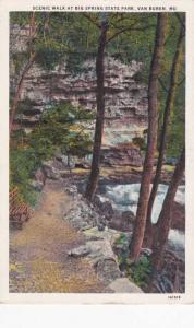 Scenic Walk in Big Spring State Park - Van Buren MO, Missouri - WB