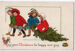 Christmas be Happy & Gay / Tuck's 543