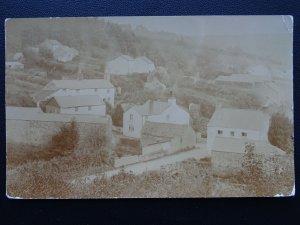 Cornwall MILLTOWN Village View near Lostwithie c1913 RP Postcard