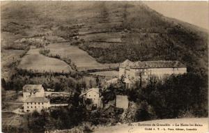 CPA Env. de GRENOBLE - La Motte-les-BAINS (583966)
