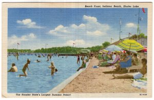 Beach Front, Indiana Beach, Shafer Lake