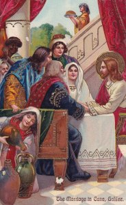 JESUS at the Marriage in Cana, Galilee, PU-1910;  PFB 9518