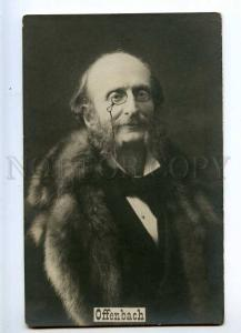 226858 Jacques OFFENBACH French COMPOSER Vintage PHOTO PC