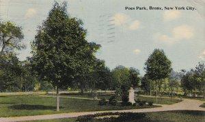BRONX, New York City, PU-1913; Poes Park