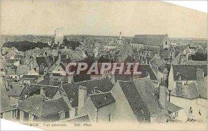 Old Postcard General view Issoudun