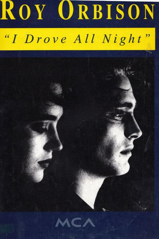 Roy Orbison I Drove All Night XL British Sheet Music
