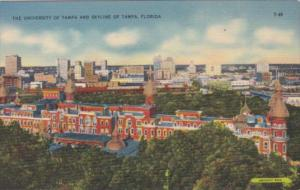 Florida Tampa The University Of Tampa and Skyline