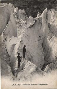 CPA Seracs au Glacier d'ARGENTIERE (109313)