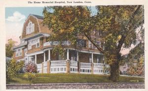 Connecticut New London The Home Memorial Hospital