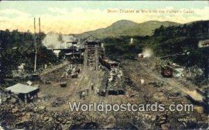 Stone Crusher at Work Panama Canal Panama 1917