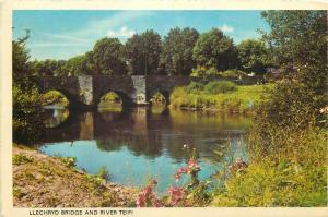 Llechryd Bridge and river Teifi