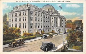 Boston Massachusetts~Children's Hospital on Longwood Avenue~New England News Pc