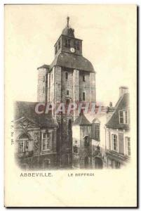 Old Postcard Abbeville The Belfry
