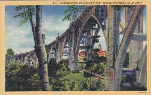 Arroyo Seco Colorado Street Bridge Pasadena California