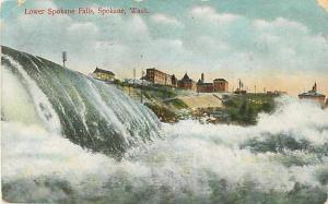 D/B Lower Spokane Falls Spokane Washington WA 1911