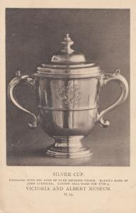 Silver Cup Eyre Impaling Arms 1722 Chalice Antique London Postcard