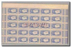 Togo FULL SHEET 1 100 TP Poste Aerienne 1f90 Overseas ** TTB