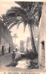 Vieux Biskra Algeria, Alger, Algerie Une Rue de Bab Darb Vieux Biskra Une Rue...