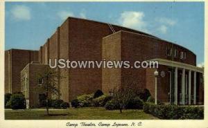 Camp Theatre Camp Lejeune NC Unused
