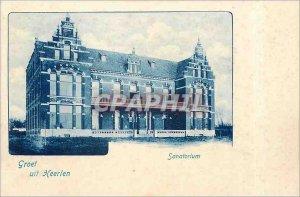 Old Postcards Groet uit Heerlen Sanatorium
