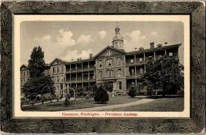 Providence Academy, Vancouver WA c1913 Vintage Postcard R08