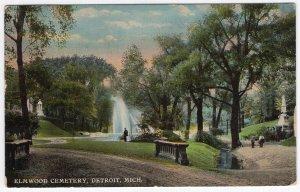 Detroit, Mich, Elmwood Cemetery