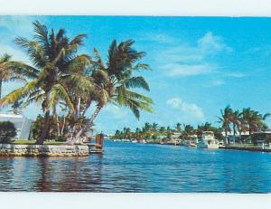 Pre-1980 INTERCOASTAL WATERWAY Fort Lauderdale Florida FL hn5745