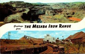 Minnesota Greetings From The Mesaba Iron Range