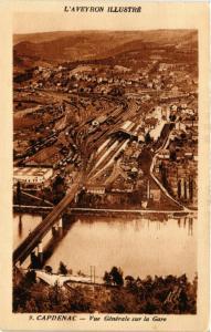 CPA L'Aveyron Illustré - CAPDENAC - Vue Générale sur la Gare (290128)
