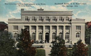 HOT SPRINGS, Arkansas, 00-10s ; Buckstaff Baths