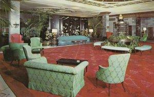 NEW YORK CITY, New York, 1940-60s;  Lobby, The Barclay
