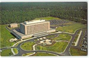 Aerial View of New Hanover Memorial Hospital, Wilmington NC - Vintage Postcard