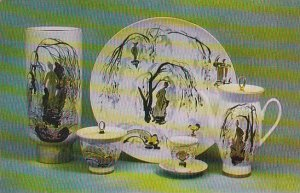 Russia Leningrad Coffee Set Old Park 1969 Museum Of The Lomonosov Porcelain F...