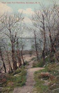 BROOKLYN, New York, PU-1911; View Near Fort Hamilton