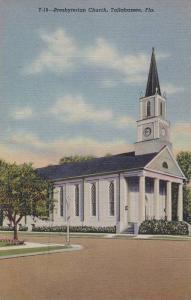 Exterior, Presbyterian Church, Tallahassee,Florida,30-40s