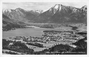 Bad Wiessee gegen Bodenschneid u. Wallberg Gesamtansicht