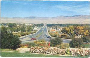 Looking Down Capitol Boulevard, Boise, Idaho, 1958 Chrome