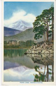 Post Card Cumbria Lake District Derwentwater Friars Crag