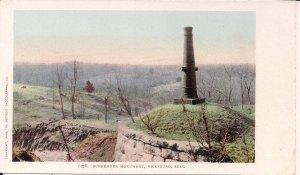 Vicksburg MS, Surrender Monument at Battlefield, Civil War, pre-1907, Panorama