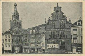 Netherlands Nijmegen markt postcard