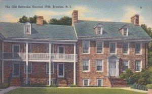 The Old Barracks Erected 1758 Trenton New Jersey