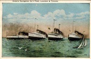 Ontario Navigation Company Fleet