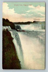 Niagara Falls NY, Prospect Point, Vintage New York c1911 Postcard