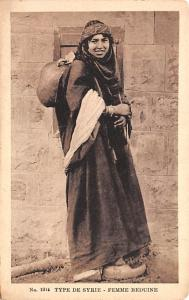 Femme Beduine, Syria Postcard, Syrie Turquie, Postale, Universelle, Carte Typ...