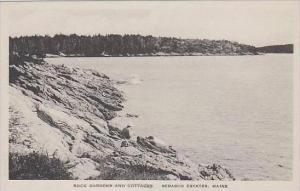 Maine Sebasco Estates Rock Gardens And Cottages Albertype