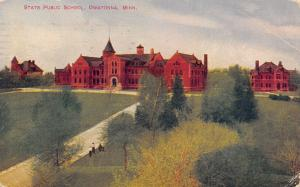 Owatonna MN State Public School~Orphanage For Neglected Children~Long Drive 1913
