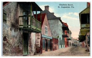 1916 Charlotte Street, St. Augustine, FL Postcard