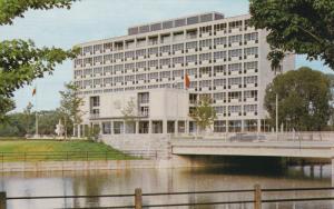 City Hall, Green Island, Ottawa, Ontario, Canada, 40-60s