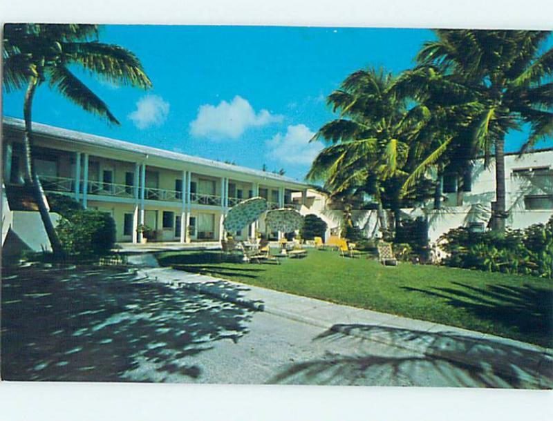 Pre 1980 Bermuda Inn Motel Delray Beach Florida Fl L2229