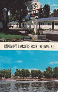 Cinnamon's Lakeshore Resort , KELOWNA , B.C. , Canada , 50-60s